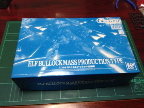 HG 1/144 エルフ・ブルック(量産機) [ELF BULLOCK MASS PRODUCTION TYPE]