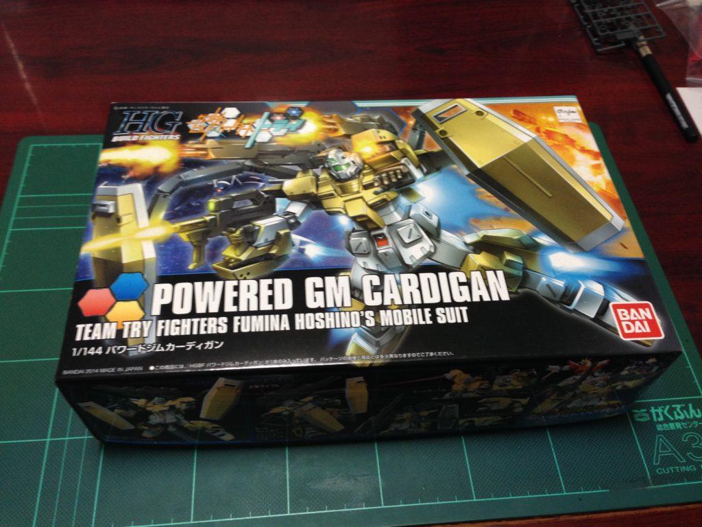 HGBF 1/144 RGM-237C パワードジムカーディガン パッケージ