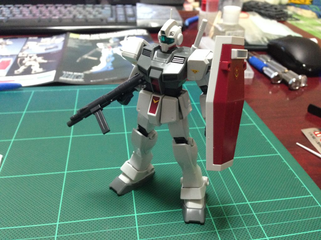 HGUC 1/144 RGM-79D ジム寒冷地仕様 [GM Cold Districts Type] 正面
