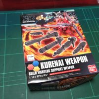 HGBC 1/144 紅ウェポン [Kurenai Weapon]