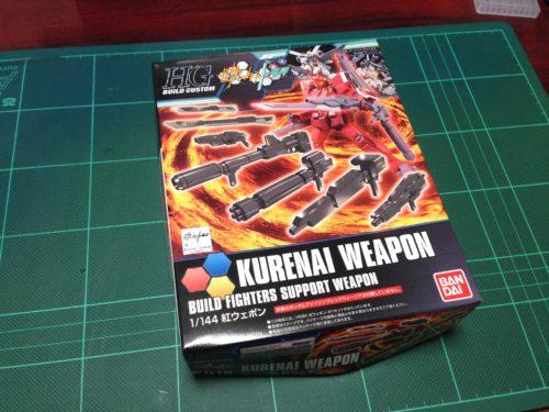 HGBC 1/144 紅ウェポン [Kurenai Weapon]