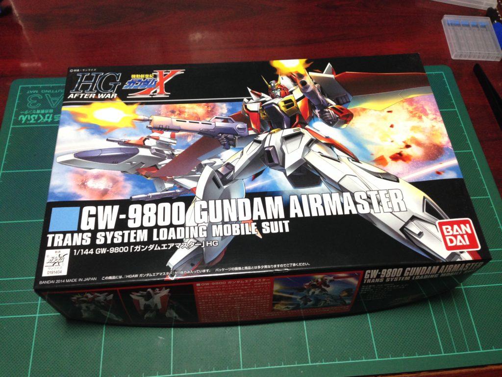 HGAW 1/144 GW-9800 ガンダムエアマスター [Gundam Airmaster] パッケージ
