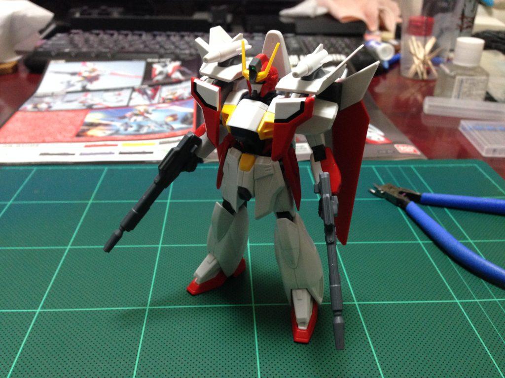 HGAW 1/144 GW-9800 ガンダムエアマスター [Gundam Airmaster] 正面