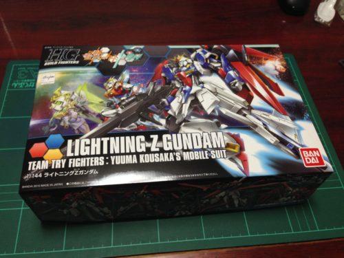 HGBF 1/144 MSZ-006LGT ライトニングZガンダム [Lightning Zeta Gundam]