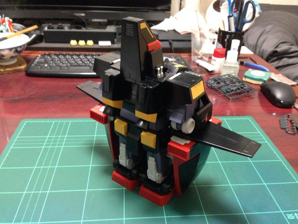 HGUC 1/144 MRX-009 サイコガンダム [PSYCHO GUNDAM] 背面