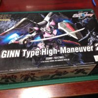 HG 1/144 ZGMF-1017M2 ジンハイマニューバ2型 [GINN Type High-Maneuver 2]