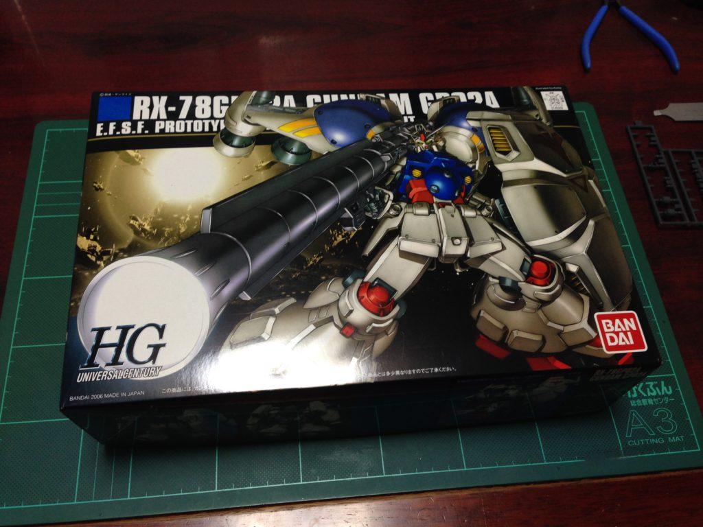 HGUC 1/144 RX-78GP02A ガンダムGP02A サイサリス [Gundam GP02A] パッケージ