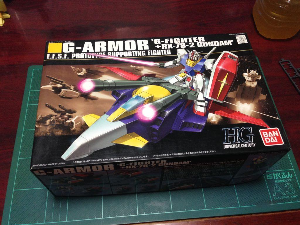 HGUC 1/144 Gアーマー(Gファイター+RX-78-2 ガンダム) [G-Armor (RX-78-2 Gundam + G-Fighter)] パッケージ