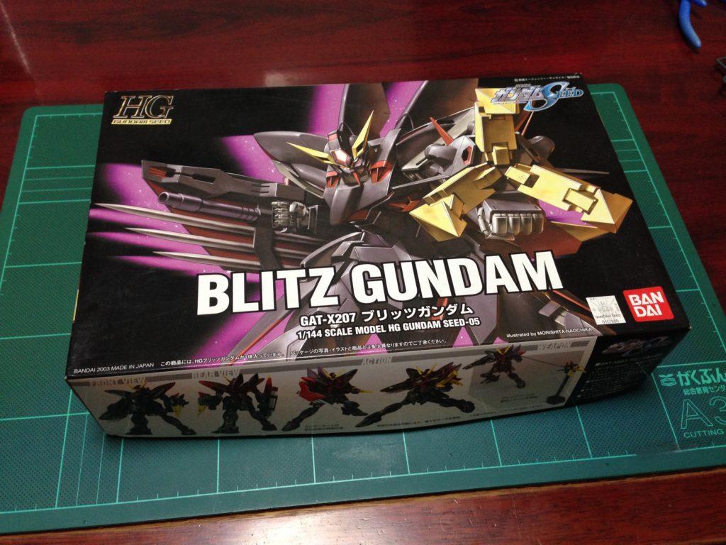 HG 1/144 GAT-X207 ブリッツガンダム パッケージ