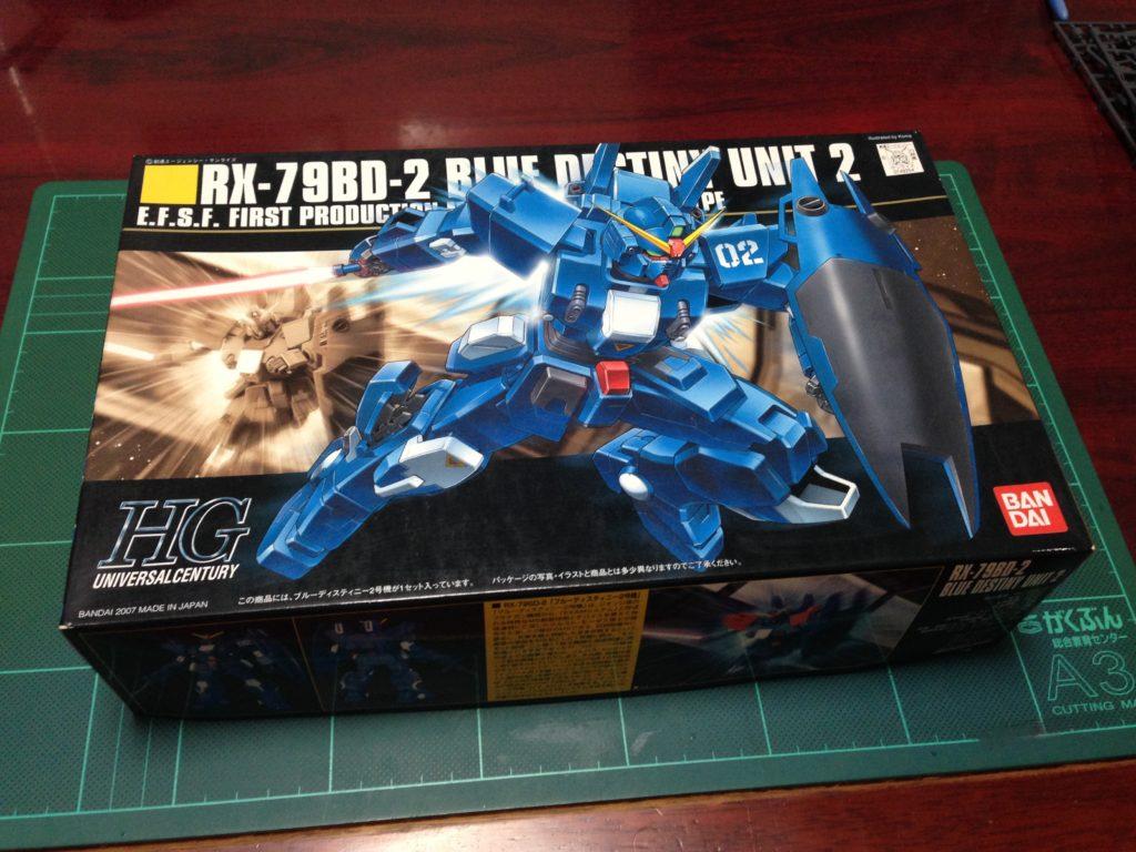 HGUC 1/144 RX-79BD-2 ブルーディスティニー2号機 パッケージ