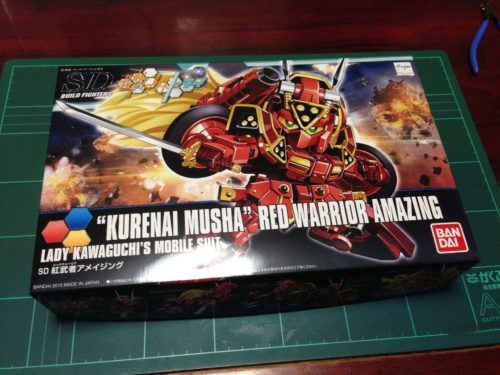 "SDBF SD-9071A 紅武者アメイジング [""Kurenai Musha"" Red Warrior Amazing]"