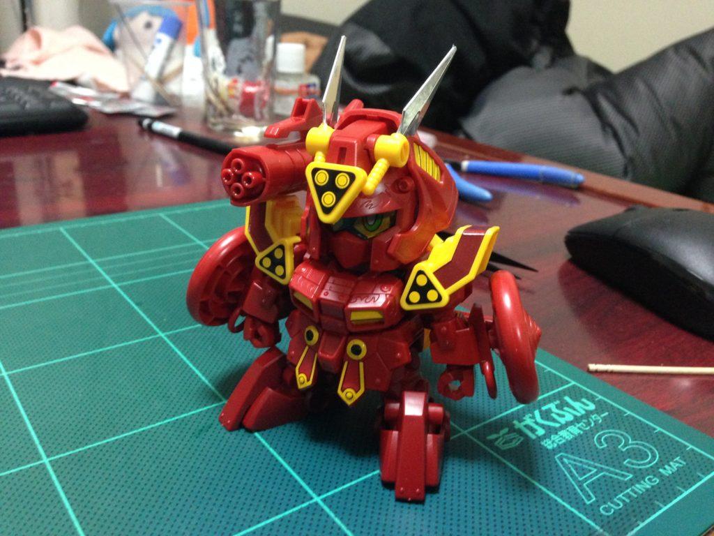 SDBF SD-9071A 紅武者アメイジング 正面