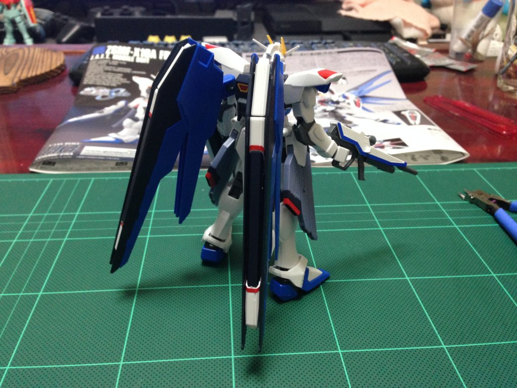 HGCE REVIVE 1/144 ZGMF-X10A フリーダムガンダム 背面