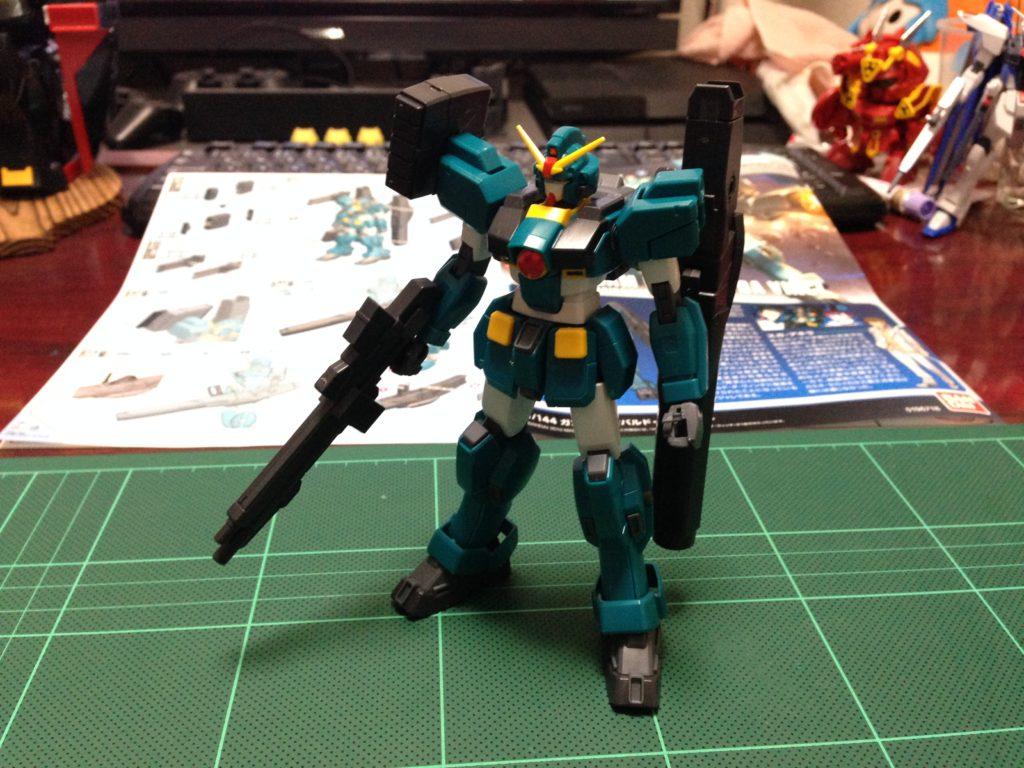 HGBF 1/144 GT-9600-DV ガンダムレオパルド・ダ・ヴィンチ [Gundam Leopard da Vinci] 正面