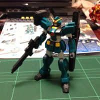 HGBF 1/144 GT-9600-DV ガンダムレオパルド・ダ・ヴィンチ [Gundam Leopard da Vinci]
