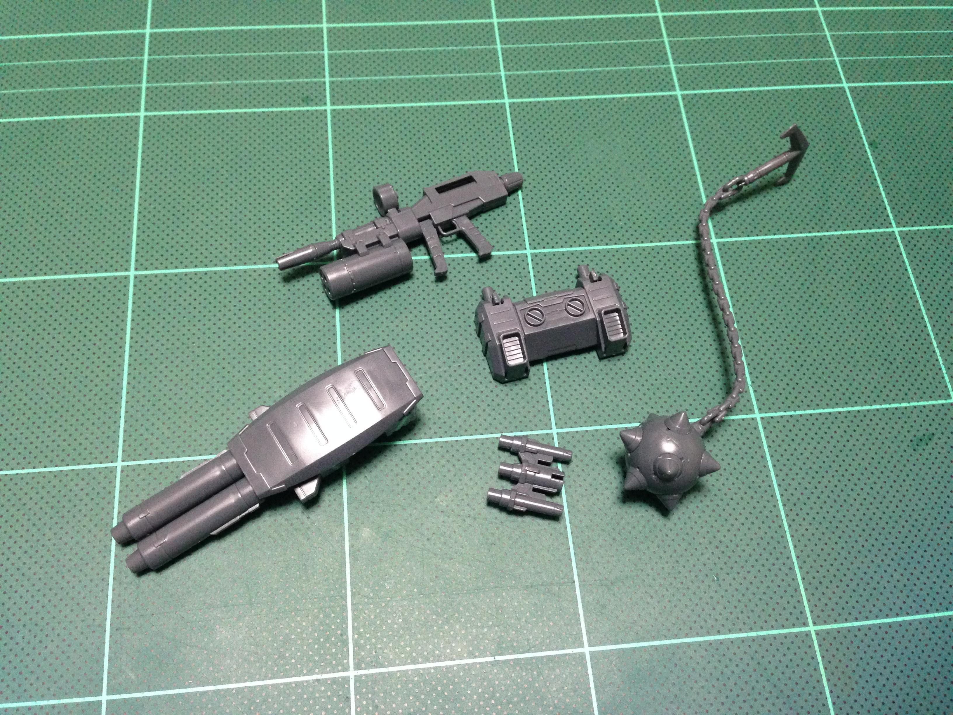 HGUC 1/144 RX-78-2 ガンダム対応武器セットB ガンダムハンマー