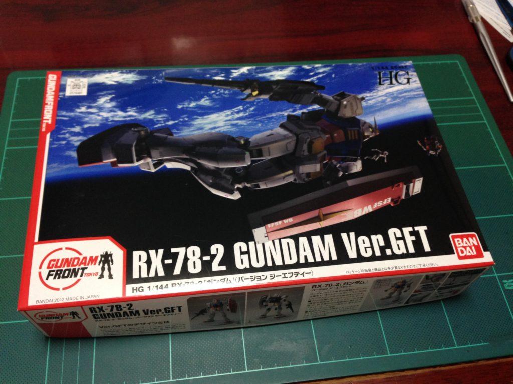 HGUC 1/144 RX-78-2 ガンダム Ver.GFT [GUNDAM Ver.GFT] パッケージ