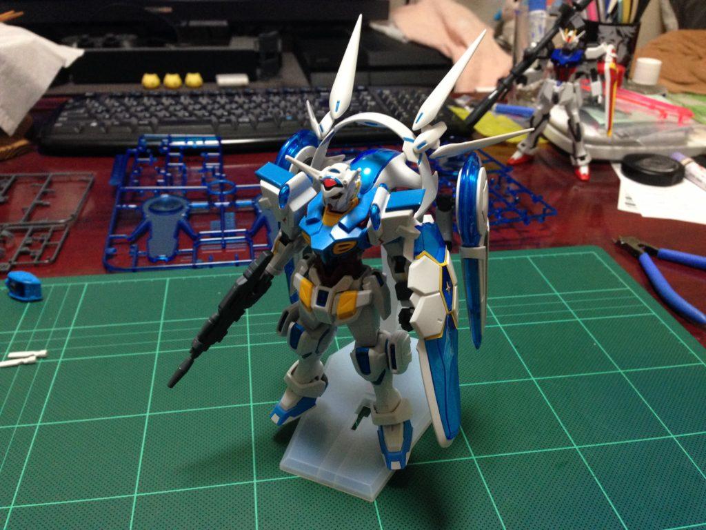 HG 1/144 YG-111 G-セルフ (パーフェクトパック装備型) [Gundam G-Self Perfect Pack] 正面