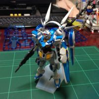 HG 1/144 YG-111 G-セルフ (パーフェクトパック装備型) [Gundam G-Self Perfect Pack] 5057730 0200636