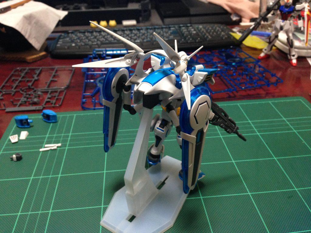 HG 1/144 YG-111 G-セルフ (パーフェクトパック装備型) [Gundam G-Self Perfect Pack] 背面