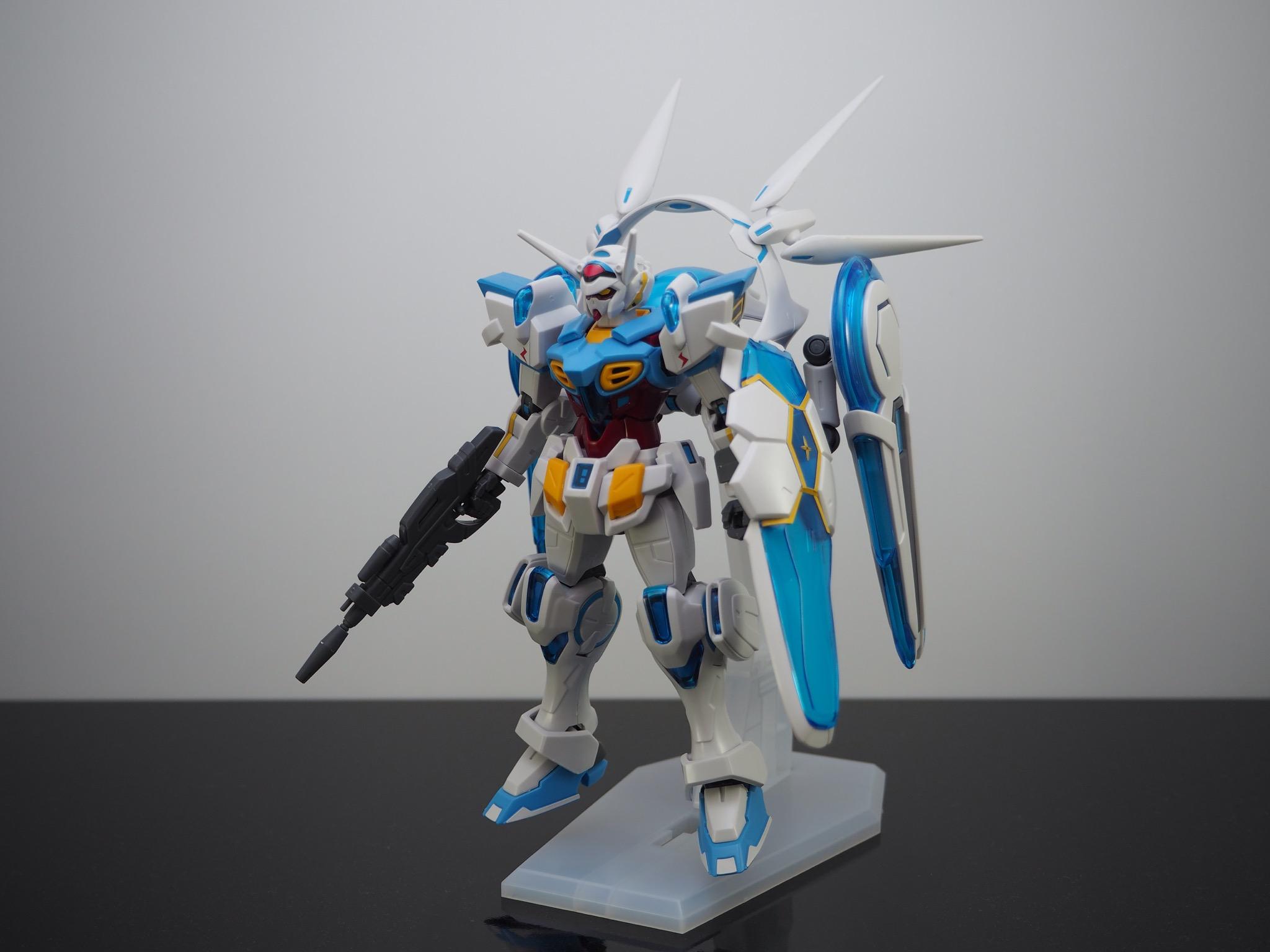 HG 1/144 YG-111 G-セルフ (パーフェクトパック装備型) [Gundam G-Self Perfect Pack]