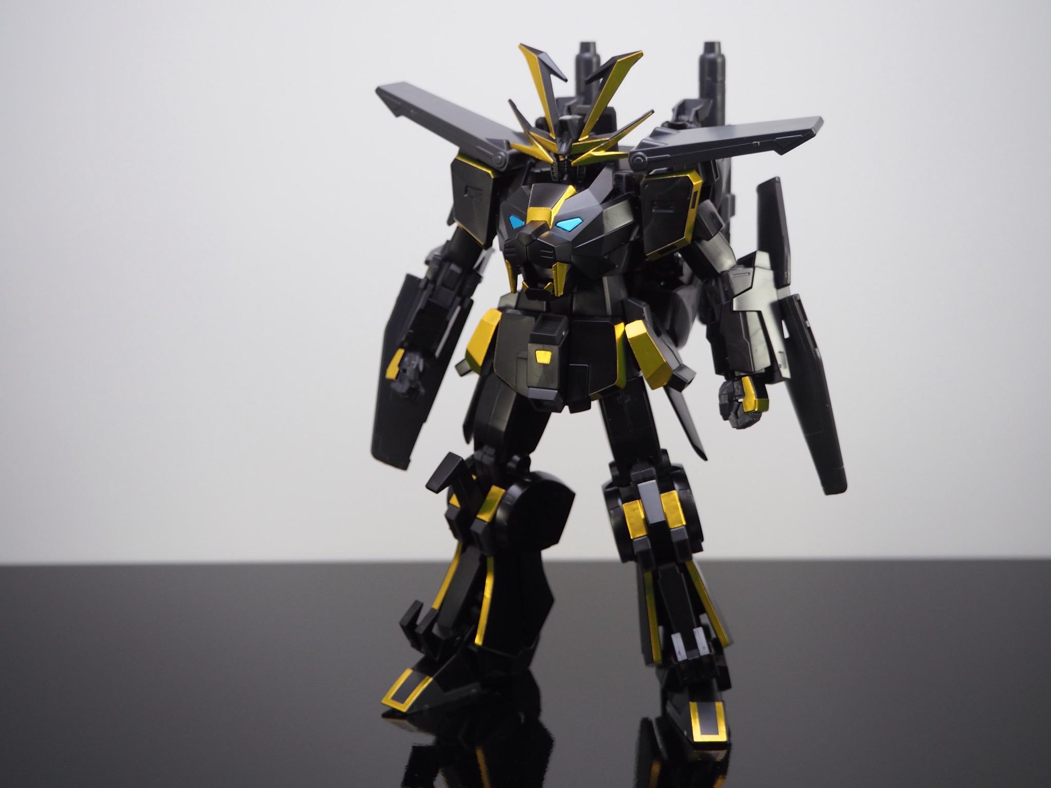 HGBF 1/144 煌黒機動 ガンダムドライオン3