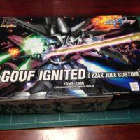 HG 1/144 ZGMF-2000 グフイグナイテッド(イザーク・ジュール専用機) [GOUF Ignited Yzak Joule Custom]