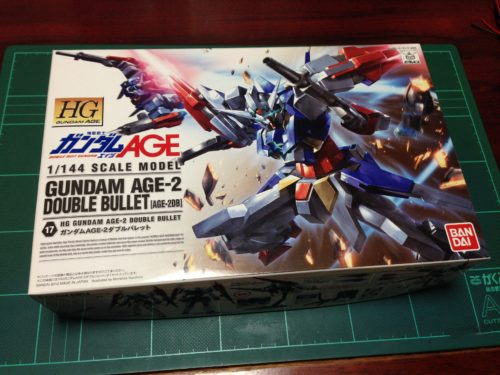 HG 1/144 AGE-2DB ガンダムAGE-2 ダブルバレット [Gundam AGE-2 Double Bullet] 0175318 5060368 4543112753182 4573102603685