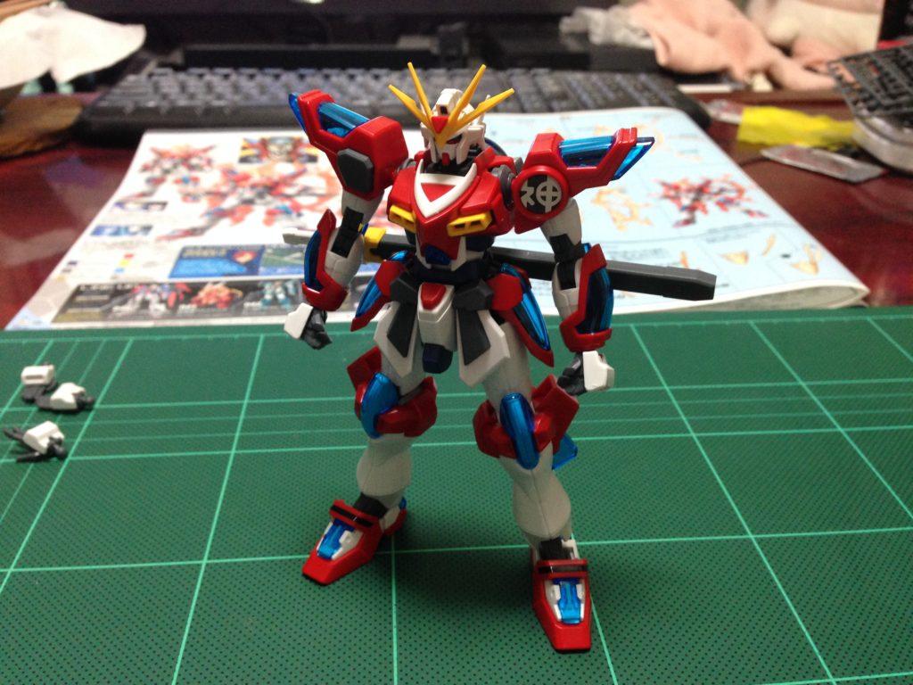 HGBF 1/144 KMK-B01 カミキバーニングガンダム [Kamiki Burning Gundam] 正面