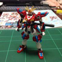 HGBF 1/144 KMK-B01 カミキバーニングガンダム [Kamiki Burning Gundam]