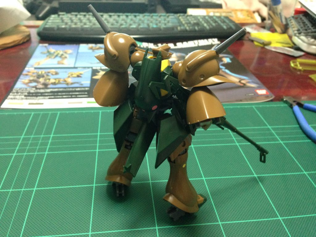 HGUC 1/144 RX-110 ガブスレイ 背面