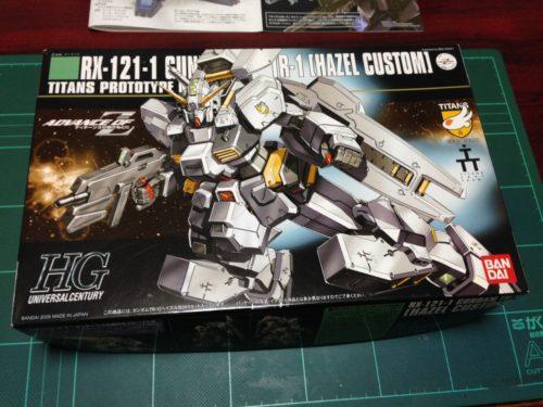 HGUC 1/144 RX-121-1 ガンダム TR-1[ヘイズル改] [Gundam TR-1 'Hazel Custom']
