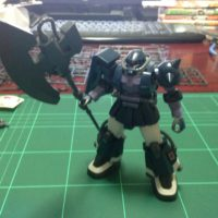 HG 1/144 MS-06R-1A 高機動型ザクII(オルテガ専用機) [Zaku II High Mobility Type (Ortega Custom)]