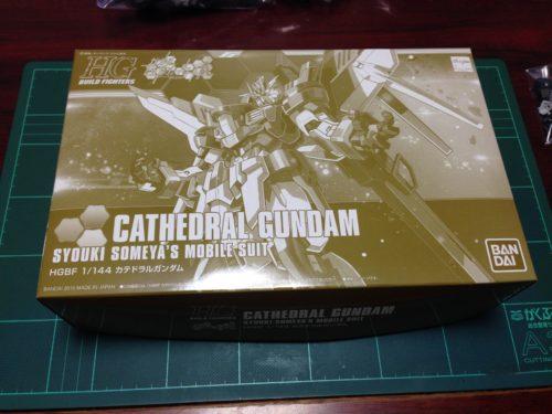 HGBF 1/144 NK-13 カテドラルガンダム [Cathedral Gundam]