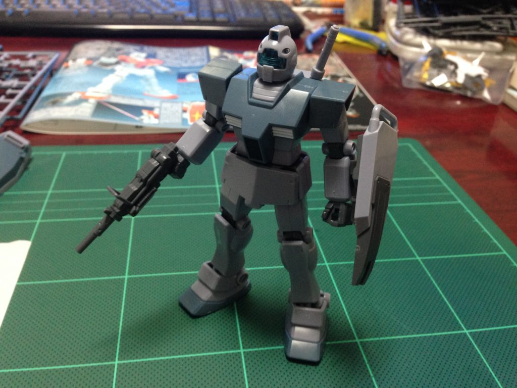 RGM-79 ジム [ホワイト・ディンゴ隊仕様機] 正面