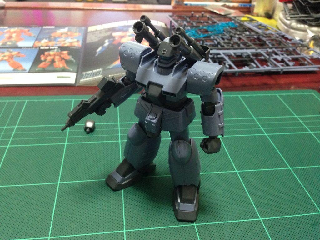 "RX-77D 量産型ガンキャノン[ホワイト・ディンゴ隊仕様機][Guncannon Mass Production Type ""White Dingo Custom""] 正面"