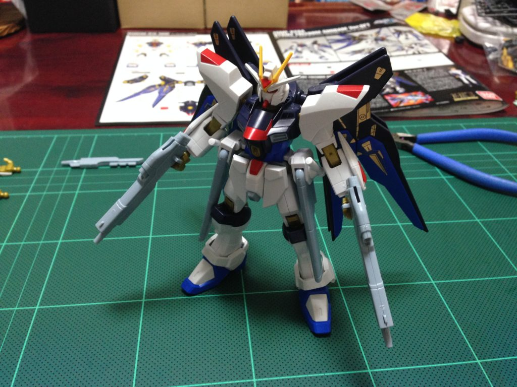 HG 1/144 ZGMF-X20A ストライクフリーダムガンダム Ver.GFT [Strike Freedom Gundam Ver.GFT] 正面