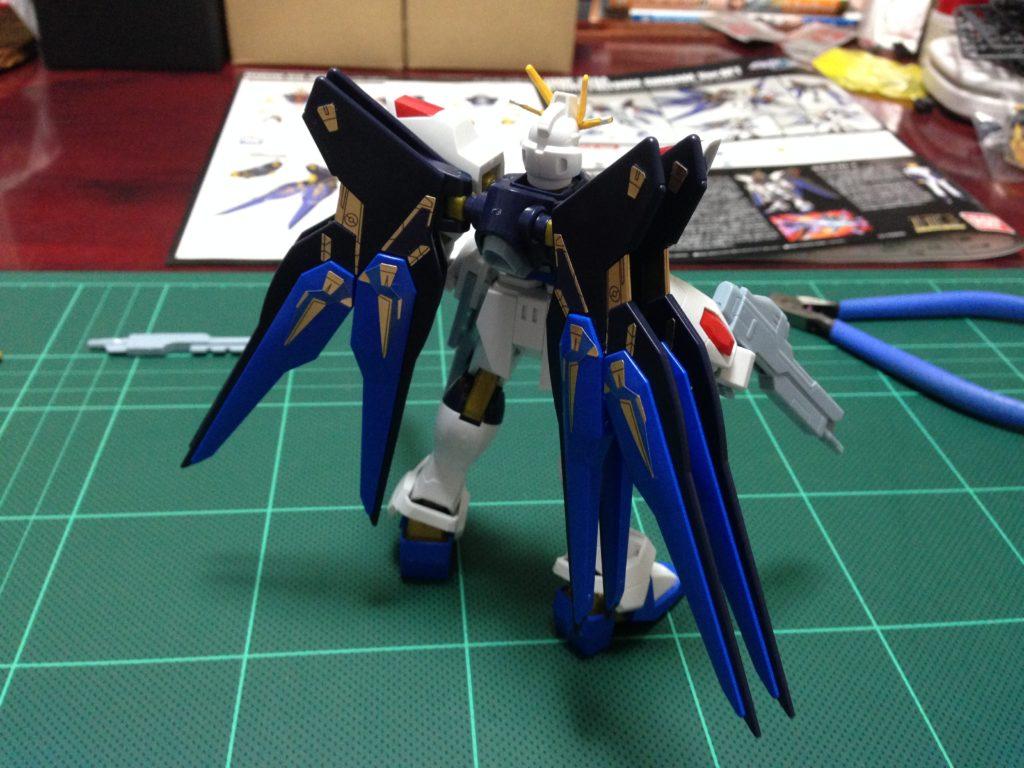 HG 1/144 ZGMF-X20A ストライクフリーダムガンダム Ver.GFT [Strike Freedom Gundam Ver.GFT] 背面