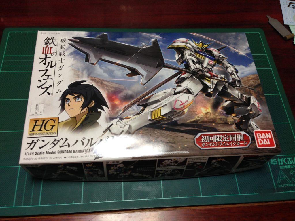 HG 1/144 ASW-G-08 ガンダムバルバトス [Gundam Barbatos] パッケージ