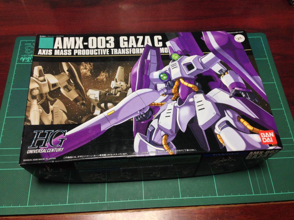 HGUC 1/144 AMX-003 ガザC(ハマーン・カーン専用機) [Gaza-C (Haman Karn Custom)] パッケージ