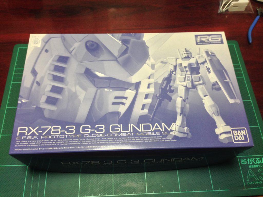RG 1/144 RX-78-3 G-3ガンダム パッケージ