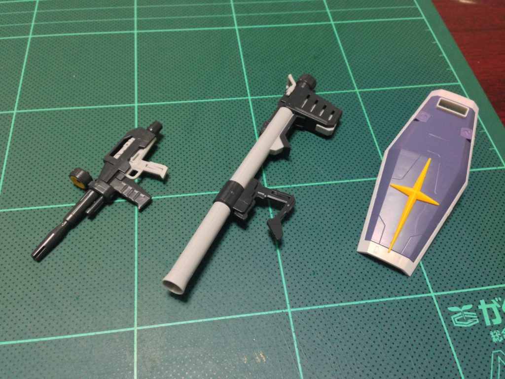 RG 1/144 RX-78-3 G-3ガンダム セット内容