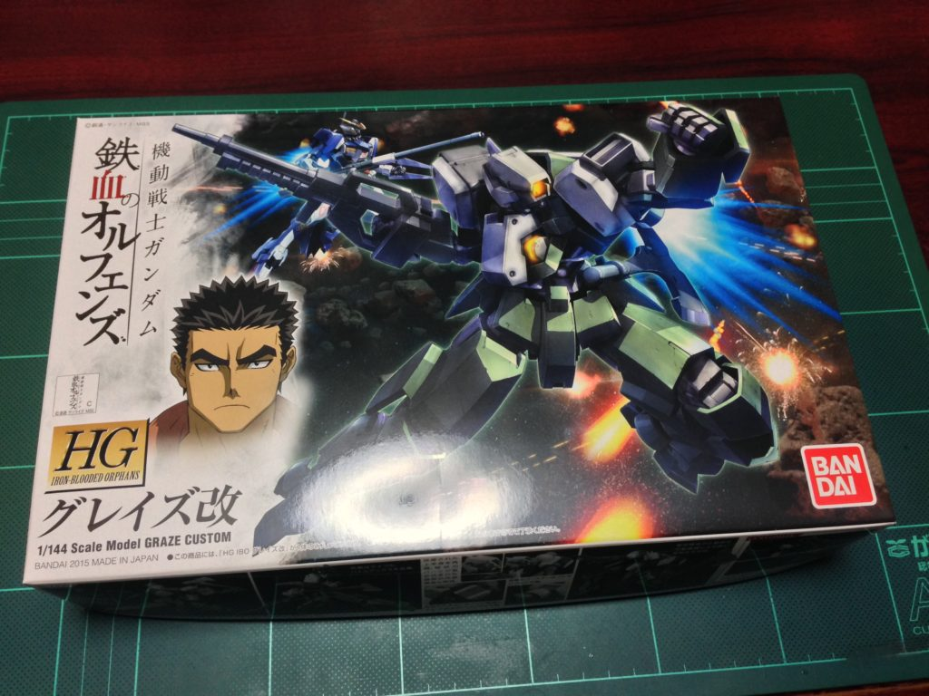 HG 1/144 EB-06/tc グレイズ改 [Graze Custom] パッケージ