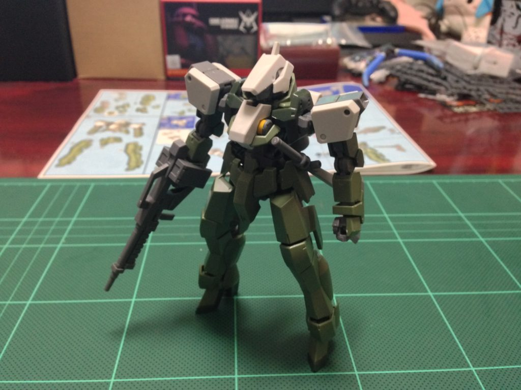 HG 1/144 EB-06/tc グレイズ改 [Graze Custom] 正面