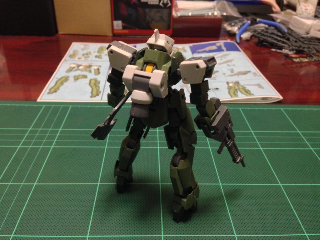 HG 1/144 EB-06/tc グレイズ改 [Graze Custom] 背面
