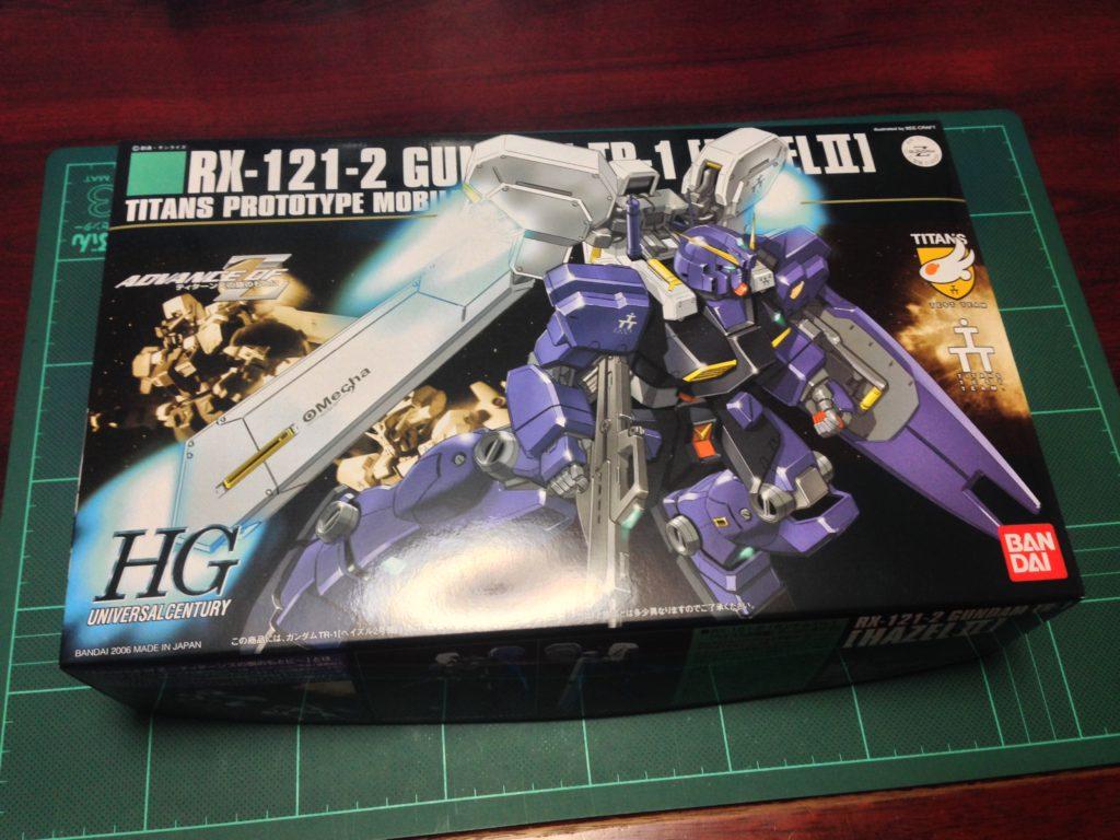 HGUC 1/144 RX-121-2 ガンダム TR-1[ヘイズル2号機] パッケージ