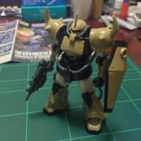 HG 1/144 YMS-07A-0 プロトタイプグフ(機動実証機サンドカラーVer) [Prototype Gouf (Mobility Demonstrator Sand Color)]