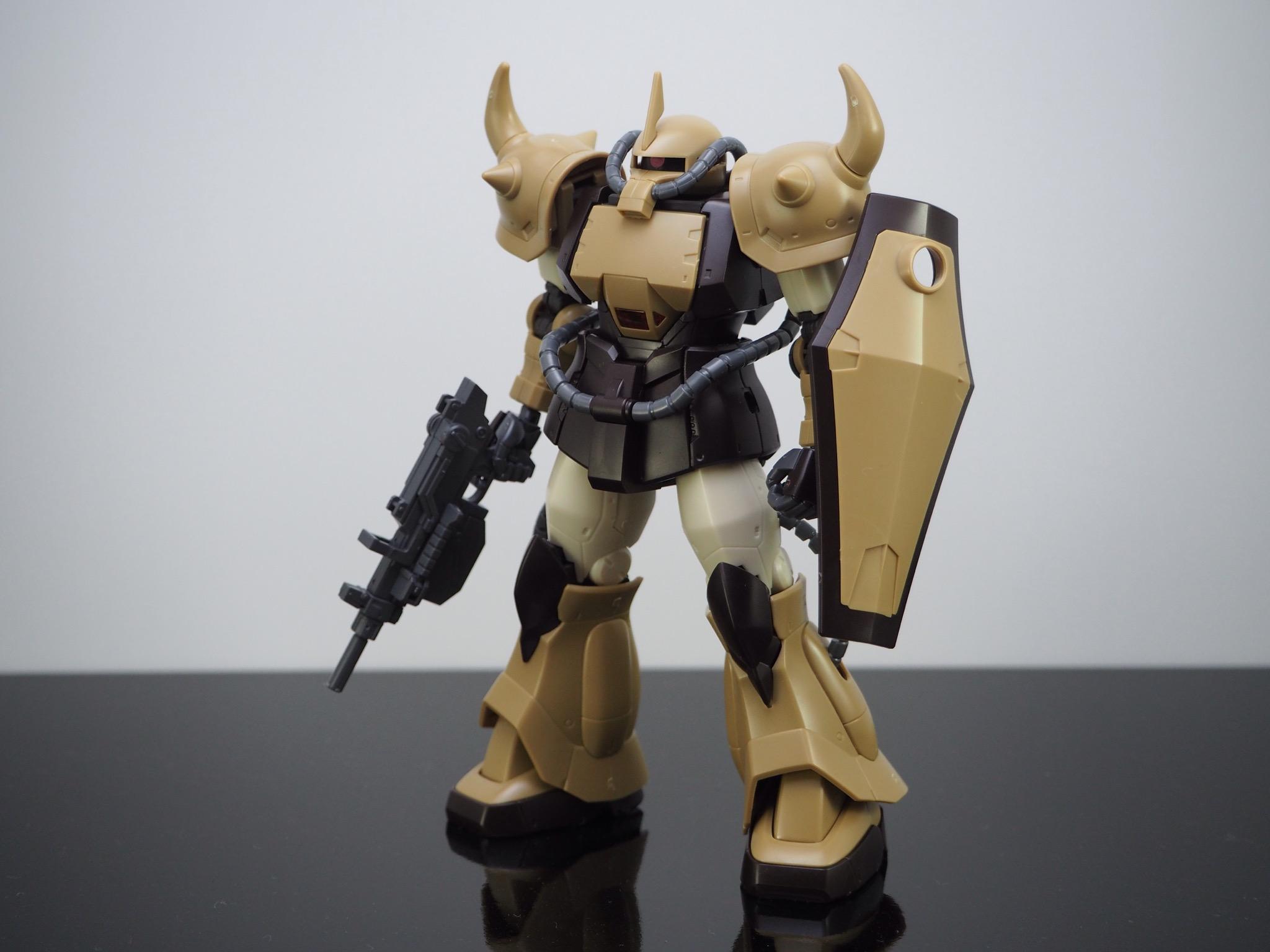 HG 1/144 YMS-07A-0 プロトタイプグフ(機動実証機サンドカラーVer) [Prototype Gouf (Mobility Demonstrator Sand Color)]