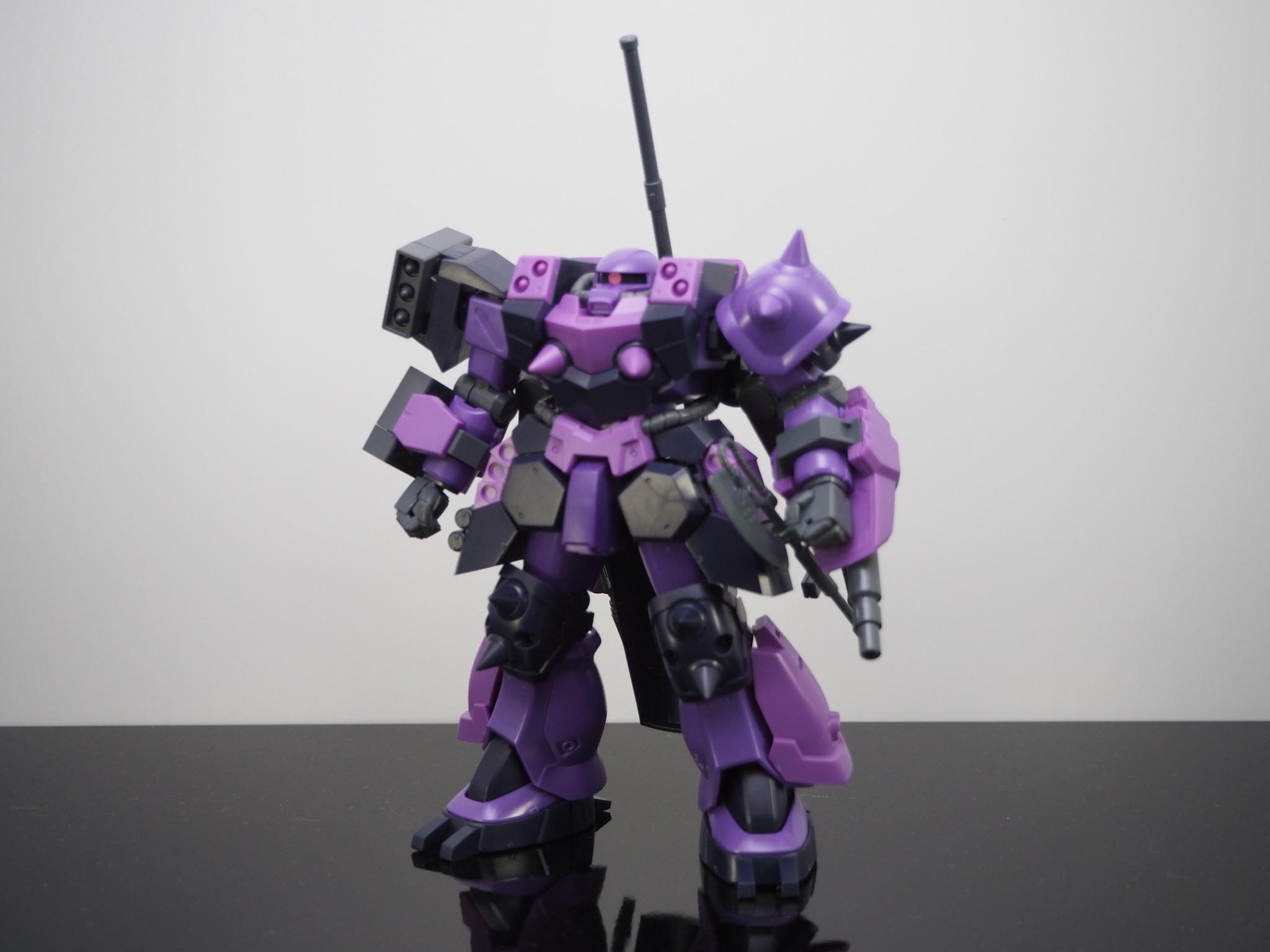 HG 1/144 GPB-06F スーパーカスタムザクF2000 [Super Custom Zaku F2000]