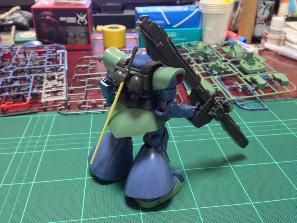 HGUC 1/144 MS-09RS アナベル・ガトー専用リック・ドム 背面